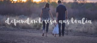 dependent visa australia couple with a chiild
