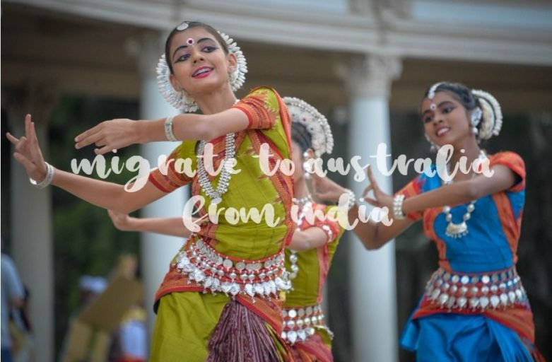 migrate to australia from india dancers