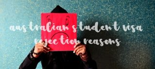 australian student visa rejection reasons unhappy
