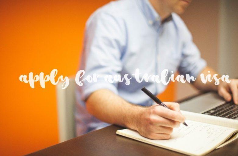 apply for australian visa writer