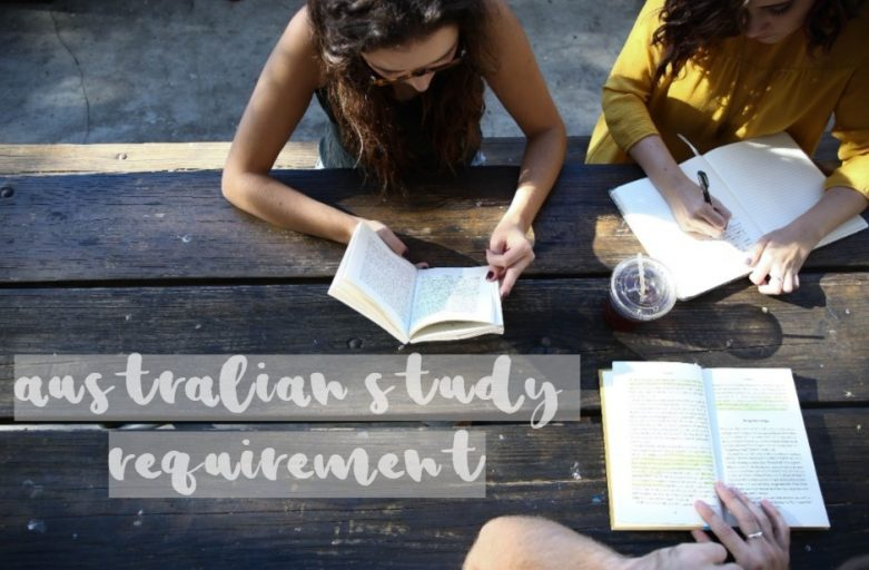 australian study requirement students reading books