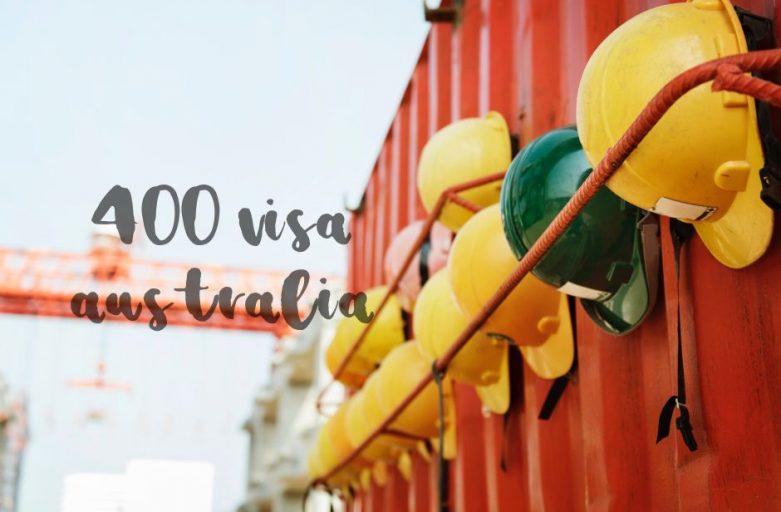 SUBCLASS 400 VISA AUSTRALIA 🇦🇺