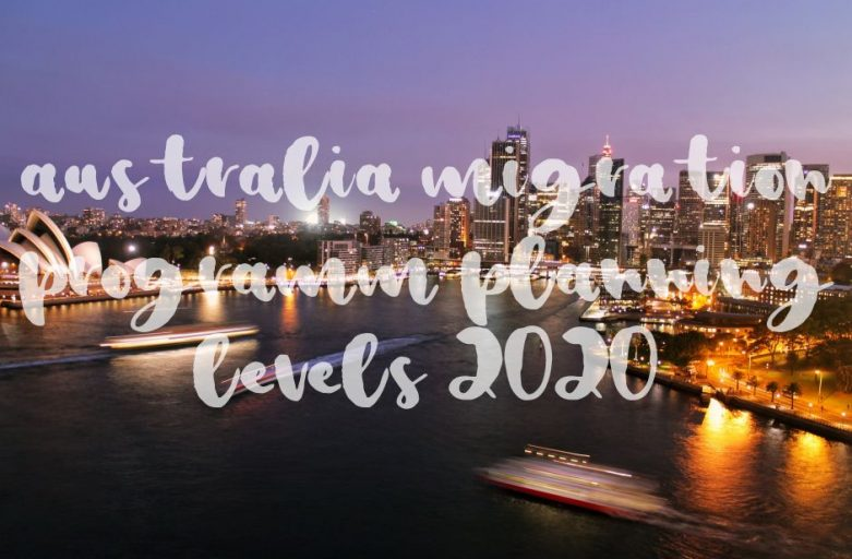 australia migration programm levels 2020 2021 sydney by night
